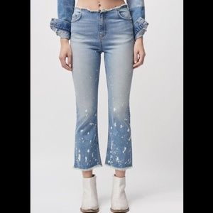 NWT Free People Cropped Bootcut